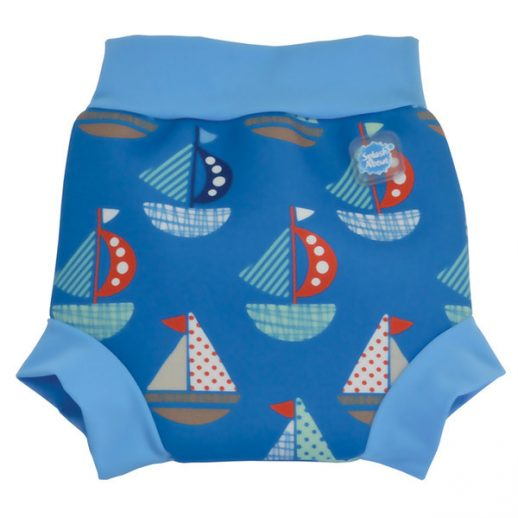 NC- Happy Nappy Set Sail Print