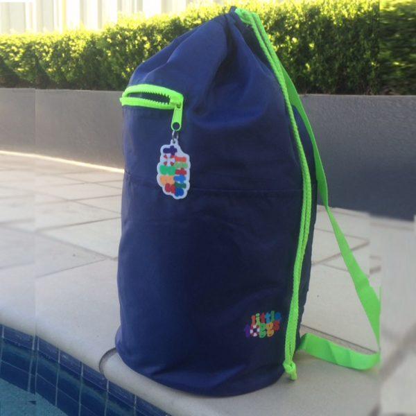 Swim Lesson Bag: Swim Bag – Navy